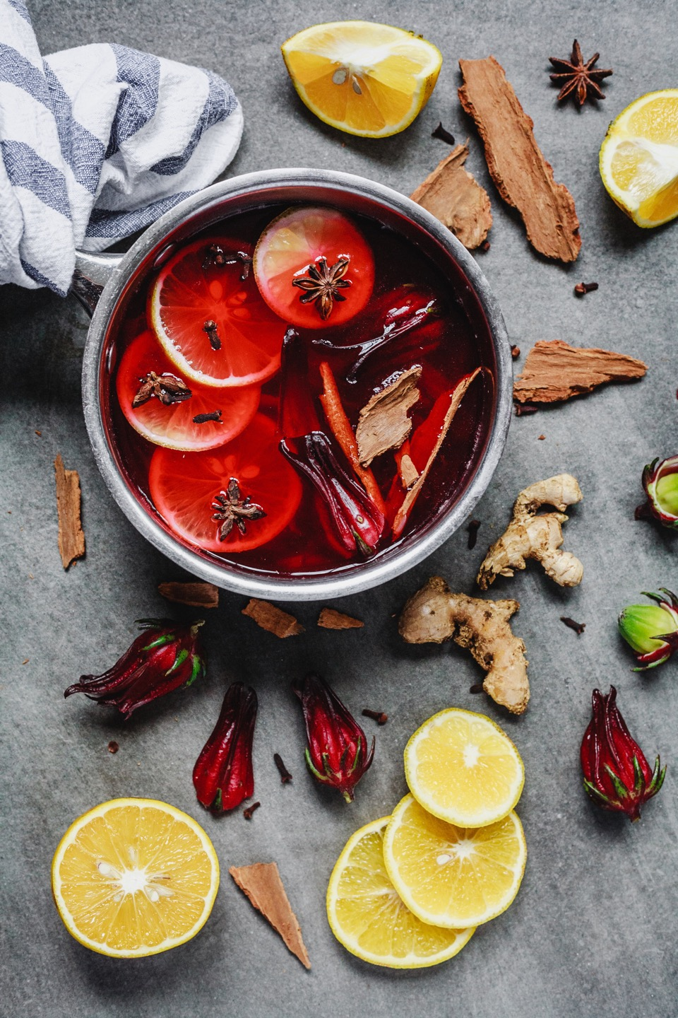 Sorrel Hot Toddy