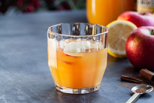 Apple Cider Ginger Beer Punch
